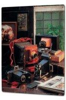 Tin Sign XXL Kitchen Camera retro turn of the century