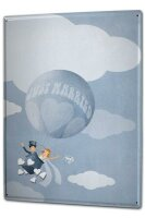 Tin Sign XXL Marriage Happiness Marry balloon