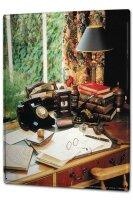 Tin Sign XXL Nostalgic Secretary desk phone