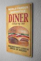 Tin Sign Kitchen G. Huber Diner Burger