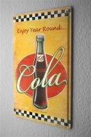 Tin Sign Bar Restaurant G. Huber Cola