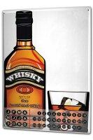 Perpetual Calendar Bar Party Scottish malt whisky Tin...