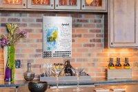 Perpetual Calendar Bar Party Tom Collins recipe Tin Metal...