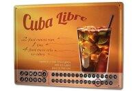 Perpetual Calendar Nostalgic Alcohol Retro Cuba Libre...