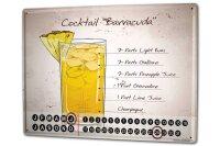 Perpetual Calendar Nostalgic Alcohol Retro Cocktail...