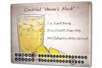 Perpetual Calendar Nostalgic Alcohol Retro Horses neck...