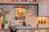 Perpetual Calendar Bar Party TikiBar Tin Metal Magnetic