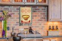 Perpetual Calendar Kitchen fried rice Tin Metal Magnetic...
