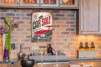 Perpetual Calendar Garage Car sales Tin Metal Magnetic