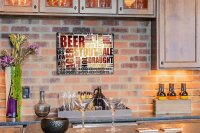 Perpetual Calendar Brewery Beer Kitchen Types of beer Tin...