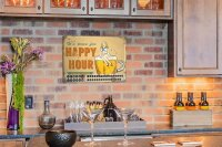 Perpetual Calendar Brewery Beer Kitchen Happy hour Tin...