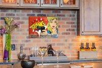 Perpetual Calendar Fun Kitchen Bang Tin Metal Magnetic