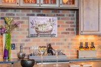 Perpetual Calendar Fun Kitchen Lavender cosmetics Tin...