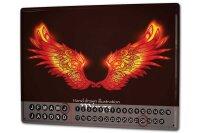 Perpetual Calendar Fun rative Wings Tin Metal Magnetic