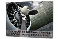 Perpetual Calendar Travel Airport rative Detail propeller...
