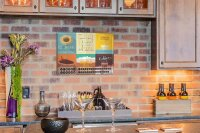 Perpetual Calendar Coffee Cafe Bar Coffee Tin Metal Magnetic