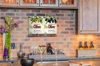 Perpetual Calendar Kitchen Olives Tin Metal Magnetic