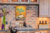 Perpetual Calendar Kitchen Sweets Tin Metal Magnetic