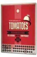 Perpetual Calendar Kitchen Tomatoes Tin Metal Magnetic