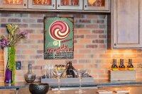 Perpetual Calendar Kitchen candy shop Tin Metal Magnetic