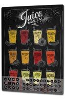 Perpetual Calendar Soda Soft Drink Fruit juices Tin Metal...