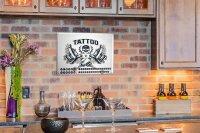 Dauer Wand Kalender Fun Tattoo Metall Magnet