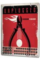 Perpetual Calendar Retro Live rock music Tin Metal Magnetic