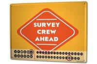 Perpetual Calendar Warning Labels Prohibition survey crew...