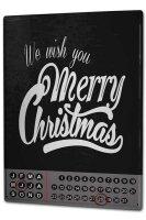Perpetual Calendar Nostalgic Christmas Merry Christmas...