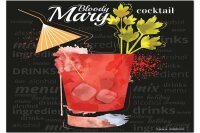 Fridge Magnet Bar Party Bloody Mary