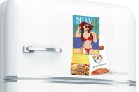Fridge Magnet City Miami bikini