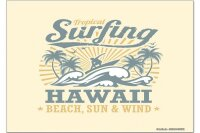 Fridge Magnet Tractor Tugs Hawaii surfing