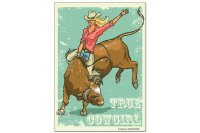 Fridge Magnet USA Native Real Cowgirl