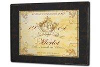 Tin Sign XXL Bar Party Merlot wine