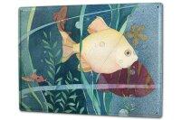 Tin Sign XXL Coastal Marine Fish