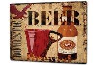 Tin Sign XXL Brewery Beer Kitchen native bottle Mug...