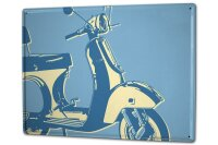 Tin Sign XXL Motorcycle Garage scooter