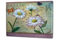 Tin Sign XXL Flora Floral Botany