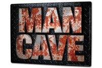 Tin Sign XXL Fun MAN CAVE