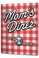 Tin Sign XXL Fun Mom`s Diner