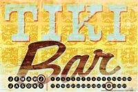 Perpetual Calendar Bar Party M.A. Allen Tiki bar Tin...