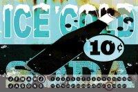 Perpetual Calendar Nostalgic M.A. Allen soda Tin Metal...