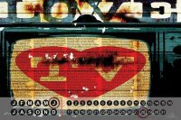 Perpetual Calendar Retro M.A. Allen Love TV Tin Metal...
