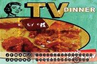Perpetual Calendar Fun M.A. Allen TV dinner Tin Metal...