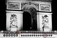 Perpetual Calendar City Butcher Paris France Tin Metal...