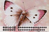 Perpetual Calendar rative Vet Practice Warminski pink Tin...