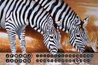 Perpetual Calendar rative Vet Practice Warminski zebra...