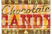 Fridge Magnet Holiday Travel Agency M.A. Allen chocolate
