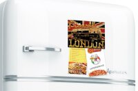 Fridge Magnet Holiday Travel Agency M.A. Allen England...
