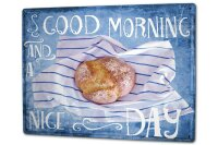 Tin Sign XXL Kitchen Breakfast